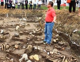 Phát hiện và khai quật 70 ngôi mộ táng cổ