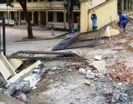 Sập cổng trường tiểu học, 4 người chết, 1 người bị thương