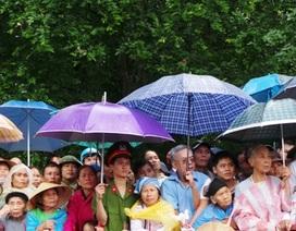 Hàng nghìn người đội mưa dự lễ đón bằng công nhận di tích quốc gia đặc biệt