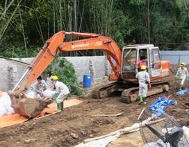 Vụ chôn thuốc trừ sâu: Sẽ vận chuyển chất thải nguy hại đi xử lý