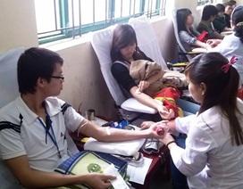 Chuẩn bị gần 800 đơn vị máu phục vụ trong dịp Tết