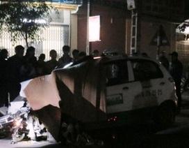 Bị taxi tông, nạn nhân tử vong ngay trên nắp capo