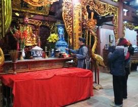 Thanh Hóa: Sẵn sàng cho lễ Khai ấn Đền Trần đêm nay