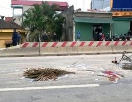Qua đường thiếu quan sát, người đàn ông bị xe tải cán chết