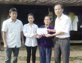 Gần 28 triệu đồng đến với gia đình bà Hỏa Thị Châm