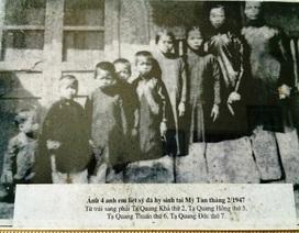 Xúc động một gia đình được Bác Hồ tặng áo lụa