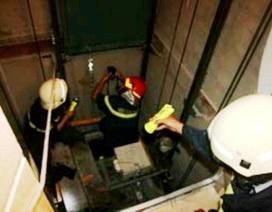 Bảo trì thang máy, một nhân viên chết thảm