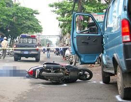 Tạm giữ tài xế mở cửa xe ô tô gây tai nạn chết người