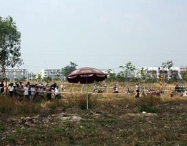Nữ công nhân tử vong trên bãi đất trống