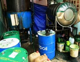 """""""Hô biến"""" nhớt phế thải thành dầu diesel"""
