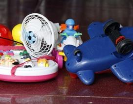 Phát hiện đồ chơi Trung Quốc có thể gây ung thư
