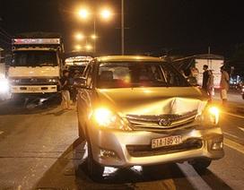 5 ô tô tông nhau liên hoàn trên quốc lộ