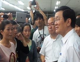 """Chủ tịch nước: """"Việt Nam sẽ làm mọi cách để doanh nghiệp nước ngoài an tâm sản xuất"""""""
