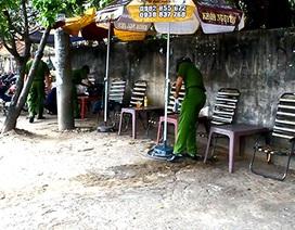 Nhân viên ngân hàng bị chém gục tại quán cà phê