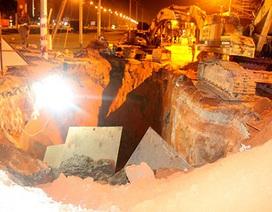 Hai công nhân bị đất vùi chết khi làm việc dưới rãnh sâu