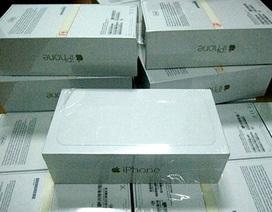 Thu giữ 240 điện thoại iPhone 6 nhập lậu