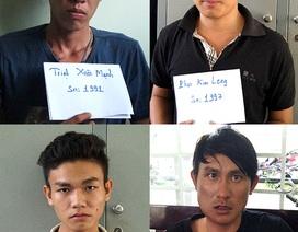 Băng nhóm gây ra 50 vụ trộm cướp sa lưới
