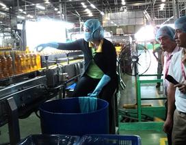 Kiểm tra Công ty Tân Hiệp Phát về vệ sinh thực thẩm trong 30 ngày