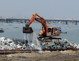 Bất chấp phản ứng, tỉnh Đồng Nai tiếp tục lấn sông