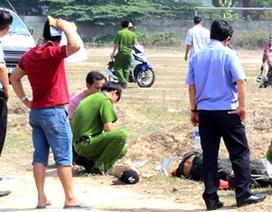 Một thanh niên chết bất thường giữa bãi đất trống