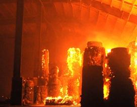 Cháy cực lớn trong đêm, Đồng Nai xin chi viện của Hải quân