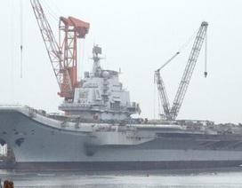 Chính phủ Trung Quốc lần đầu tiên xác nhận chế tạo tàu sân bay