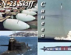 Nga thử thành công tên lửa Sineva từ tàu ngầm