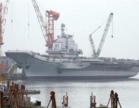 Quốc tế lo ngại về kế hoạch đóng tàu sân bay của Trung Quốc
