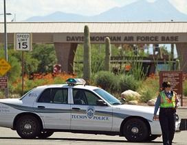 Căn cứ không quân Mỹ đóng cửa vì nghi khủng bố đột nhập