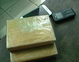 Bắt giữ hai đối tượng vận chuyển ma túy từ Nghệ An ra Nam Định tiêu thụ