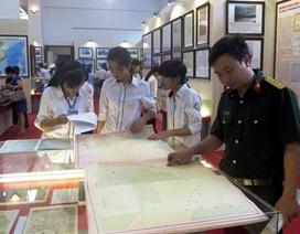 Khai mạc Triển lãm trưng bày bản đồ, tư liệu khẳng định chủ quyền Hoàng Sa, Trường Sa