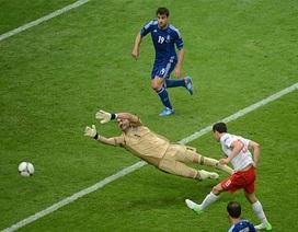 Chiêm ngưỡng những khoảnh khắc ấn tượng loạt trận mở màn Euro 2012