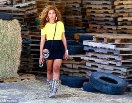 Beyonce tiết lộ ảnh gia đình hạnh phúc