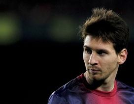 """Messi chạm mốc 100 """"bàn thắng"""" trong năm 2012"""