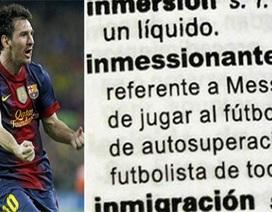 """""""Messi"""" trở thành tính từ miêu tả sự vĩ đại trong từ điển"""