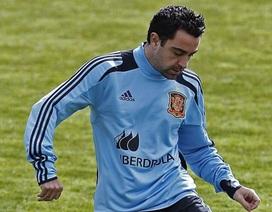 Xavi và Alonso kịp thời trở lại trước đại chiến Tây Ban Nha-Pháp