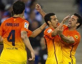 Đánh bại Espanyol, Barcelona áp sát kỷ lục của Mourinho