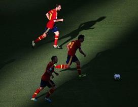 Những khoảnh khắc ấn tượng từ chiến thắng của Tây Ban Nha