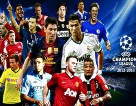 Juventus vẫn có thu nhập cao nhất Champions League 2012-13