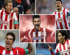 David Villa và sứ mệnh kế tục những trung phong kiệt xuất tại Atletico