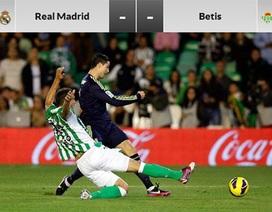 Real Madrid - Real Betis: Bữa tiệc đầu tại Bernabeu