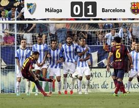 Nhìn lại chiến thắng chật vật của Barcelona tại La Rosareda