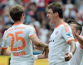 Bayern Munich nhọc nhằn vượt ải Frankfurt