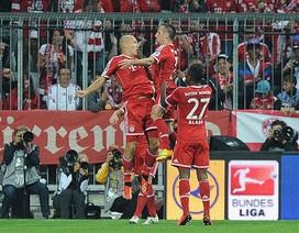Bayern Munich thắng tưng bừng trong trận khai màn Bundesliga