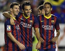 """Neymar đóng vai """"chim mồi"""" cho Messi"""