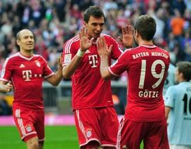 Götze bùng nổ, Bayern Munich hủy diệt Mainz