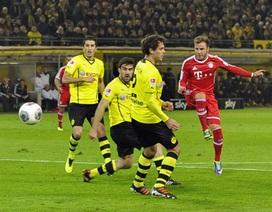 Bayern Munich đánh sập thánh địa của Dortmund