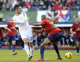 Real Madrid bất ngờ bị cầm chân tại El Sadar