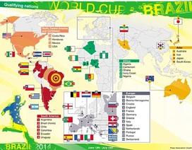Điểm mặt 32 đội tuyển tham dự World Cup 2014 (Kỳ 2)