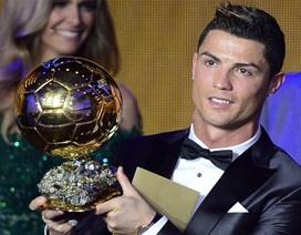 C.Ronaldo giành Quả bóng vàng FIFA 2013